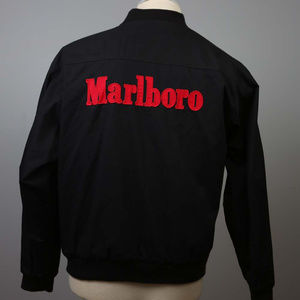 Marlboro Men's Reversible Jacket L black/red